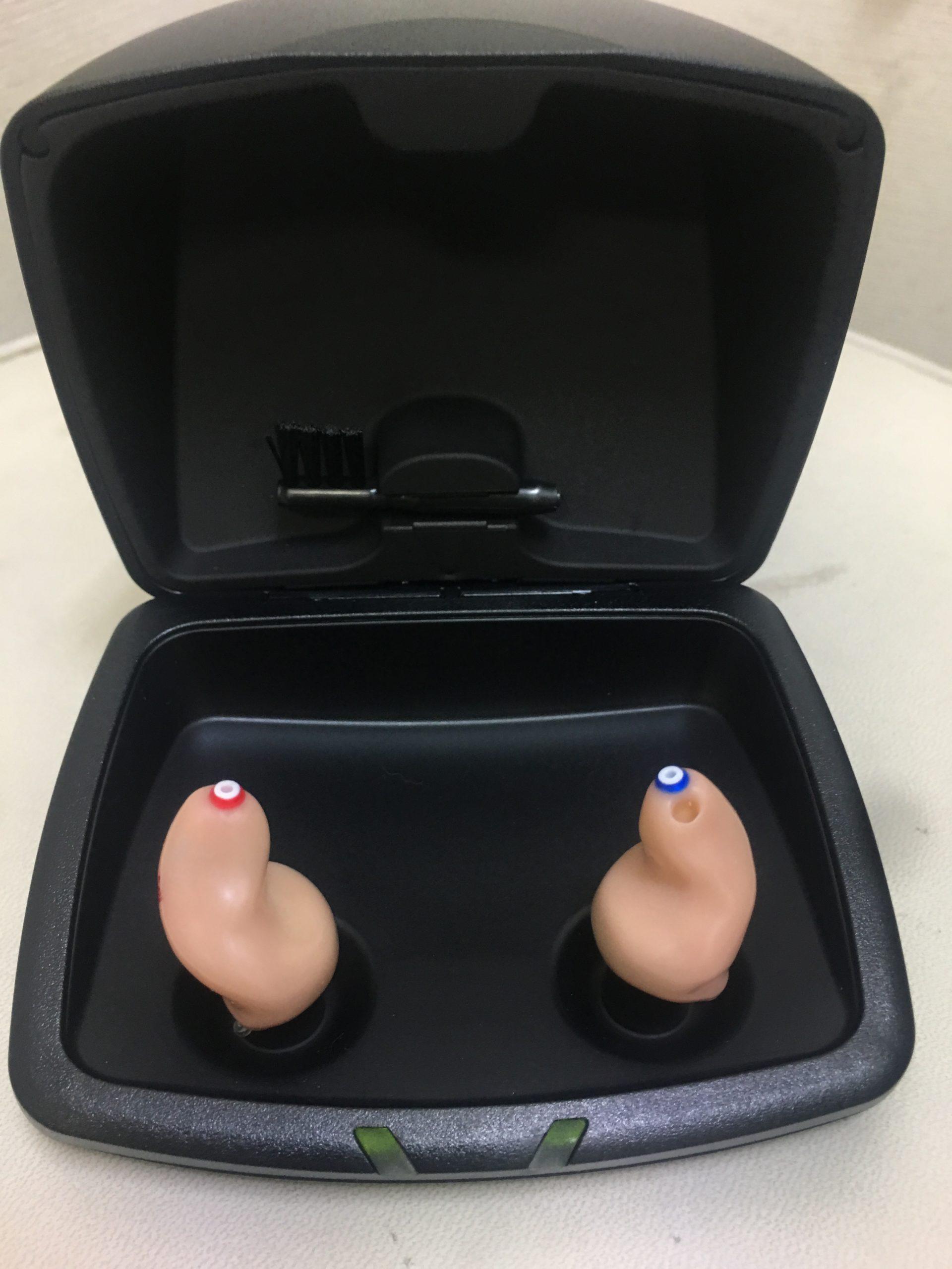 スターキー補聴器Livio充電式オーダーメイド補聴器来週お渡しします